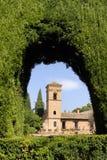 Granada alhambra Hiszpanii Fotografia Royalty Free