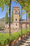 Granada alhambra Hiszpanii Zdjęcie Royalty Free