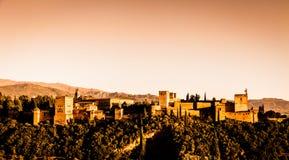 Granada - Alhambra Palace Royalty Free Stock Photos