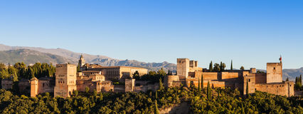 Granada - Alhambra Palace Royalty Free Stock Photography