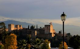 Granada. Alhambra Stock Image