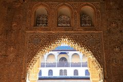 Granada. Alhambra Royalty Free Stock Photo