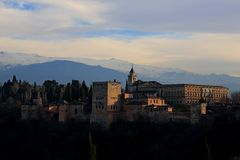 Granada. Alhambra royalty free stock images