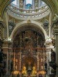 GRANADA, ANDALUCIA/SPAIN - MAY 7 : The Basilica of Nuestra Senor Stock Photos
