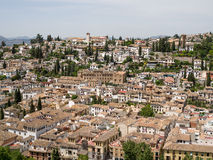 GRANADA, ANDALUCIA/SPAIN - MAY 7 : View of Granada in Andalucia Royalty Free Stock Photo