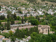 GRANADA, ANDALUCIA/SPAIN - MAY 7 : View of Granada in Andalucia stock photo