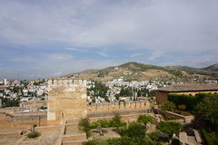 Granada. In Andalusia from Spain Royalty Free Stock Photography