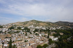Granada. In Andalusia from Spain Stock Photos