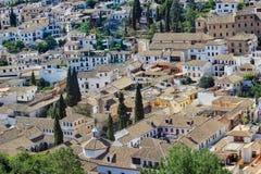 Granada, Andalusia, Spain stock images