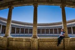 Granada, a Andaluzia, Spain foto de stock