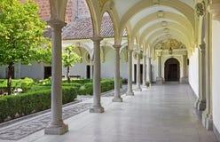 Granada - atrium of church Monasterio de la Cartuja. Stock Images