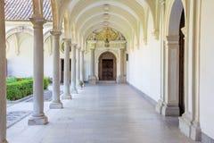 Granada - The atrium of church Monasterio de la Cartuja. Stock Photography