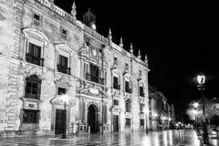 Granada - cancelleria reale Immagine Stock Libera da Diritti