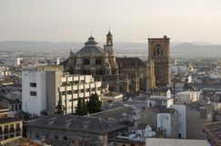 Granada cathedral Royalty Free Stock Photos