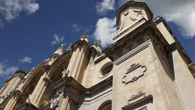 Granada Cathedral Cathedral of the Incarnation in gothic and spanish renaissance style, Andalucia, Spain stock footage