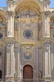 Granada cathedral facade Royalty Free Stock Photography