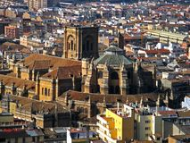 Granada, Cathedral of Granada 01. The Cathedral of Granada in Granada, Spain Stock Photography