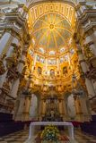 Granada Cathedral, Cathedral of the Incarnation, Granada. Roman Catholic Granada Cathedral, Cathedral of the Incarnation, Granada, Andalusia, Spain stock photos