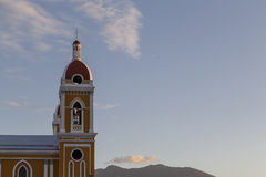 Granada cathedral view with sky Royalty Free Stock Images