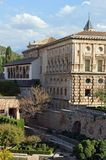 Granada - Charles V Palace - Alhambra, Granada, Spain Stock Images