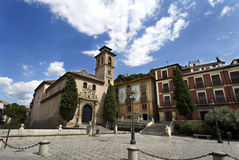 Granada Church of Saint Anne and Saint Gil Stock Photography