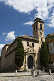 Granada Church of Saint Anne and Saint Gil Stock Photos