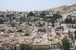 Granada city in Andalusia, Spain, Europe Stock Photo