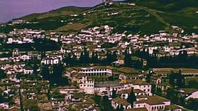 Granada aerial view stock video footage