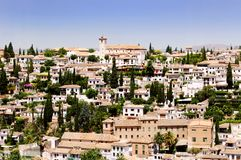Granada City, Spain. Granada City is the capital of the province of Granada, in the autonomous community of Andalusia, Spain royalty free stock images