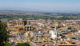 Granada city, Spain. Royalty Free Stock Photo
