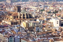 Granada city, Spain Royalty Free Stock Photography