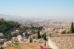Granada, city view Royalty Free Stock Photography
