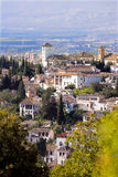 Granada - cityscape from Spain Royalty Free Stock Image