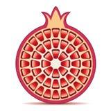 granada del vector Fotografía de archivo libre de regalías
