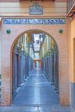 Granada - den Alcaiceria marknaden Arkivfoto
