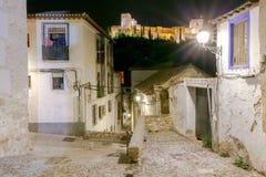 granada Der Festungs- und Palastkomplex Alhambra Stockfotos