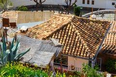 Granada in een dag Granada wordt gevestigd bij voet van Siërra Nevada Mountains, Andalusia, Spanje stock foto