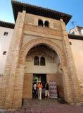 Granada, El Corral Del Carbon - arabisches Anleitungsgasthaus Stockfoto