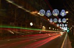 Granada en la Navidad Fotografía de archivo libre de regalías