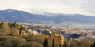 Granada en Siërra Maestra stock foto's
