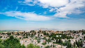 Granada, España - ciudad de Granada Imagenes de archivo