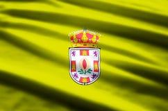 Granada-Flaggenillustration vektor abbildung