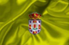 Granada-Flaggenillustration lizenzfreie abbildung