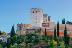 Granada. The fortress and palace complex Alhambra. Stock Images
