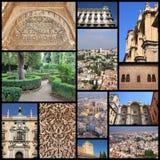 Granada foto Arkivbild