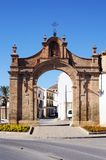 Granada gate, Antequera, Spain. Stock Images