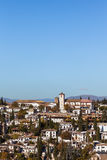 Granada. Gypsy Hill (Sacromonte),  the famous suburb of Granada in Andalucia in Spain Stock Photos