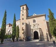 Granada - Iglesia de San Ildefonso Stock Photography