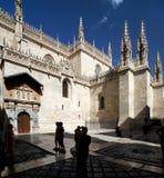 Granada kapell av konungarna Royaltyfri Bild