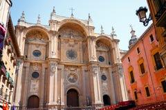Granada katedra Zdjęcia Royalty Free